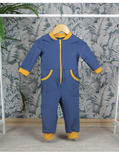 French terry overall -...